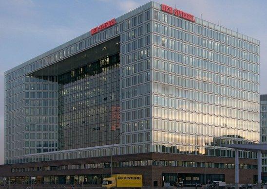 Le siège de l'hebdomadaire à Hambourg. (Crédit photo : Wolfgang Meinhart)